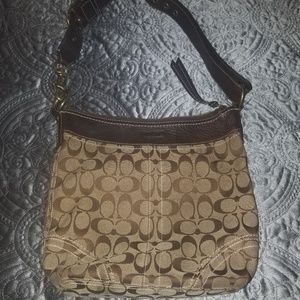 Coach Signature Leather handbag (original)